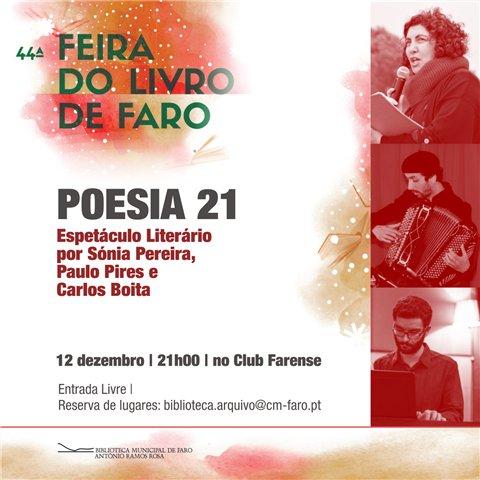 Poesia 21 - Espetáculo Literário