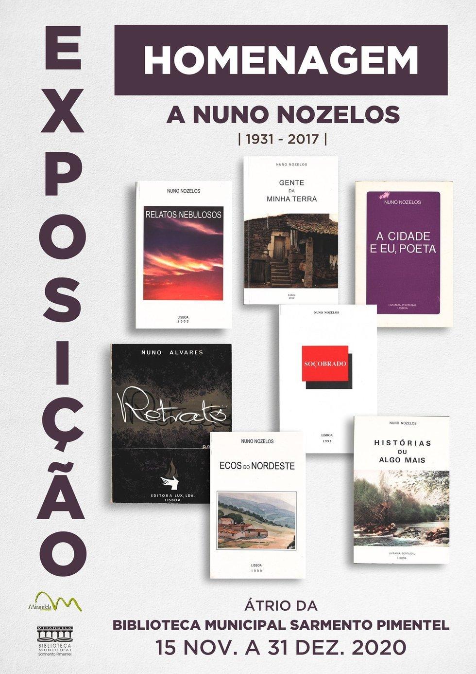 Exposição - Homenagem a Nuno Nozelos