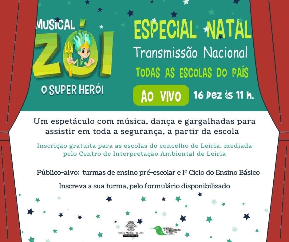 Musical 'Zói, o Super Herói - Especial Natal'