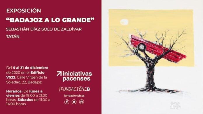 Exposición 'Badajoz a lo grande' de Tatán | EcosistemaW