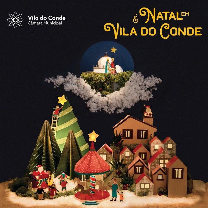 É Natal em Vila do Conde