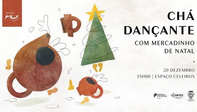 Chá Dançante com Mercadinho de Natal