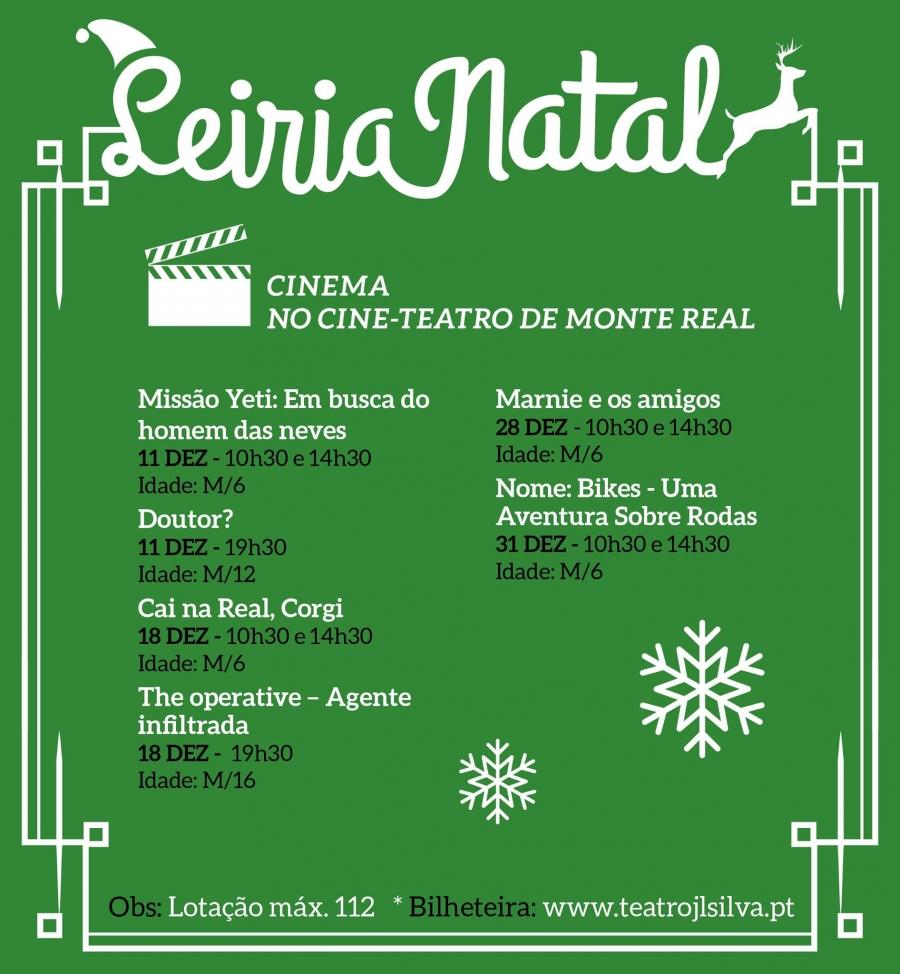 Cinema no Cine-Teatro de Monte Real