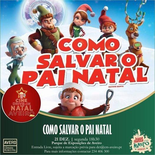Cine Drive In de Natal   Boas Festas em Aveiro