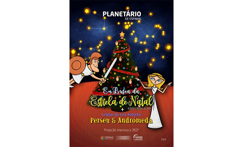 Em Busca da Estrela de Natal + Lendas do Céu Noturno: Perseu & Andrómeda