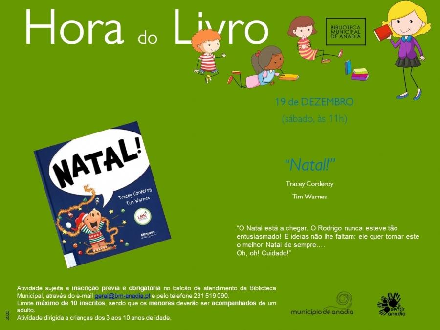"""Hora do Livro - """"Natal"""""""