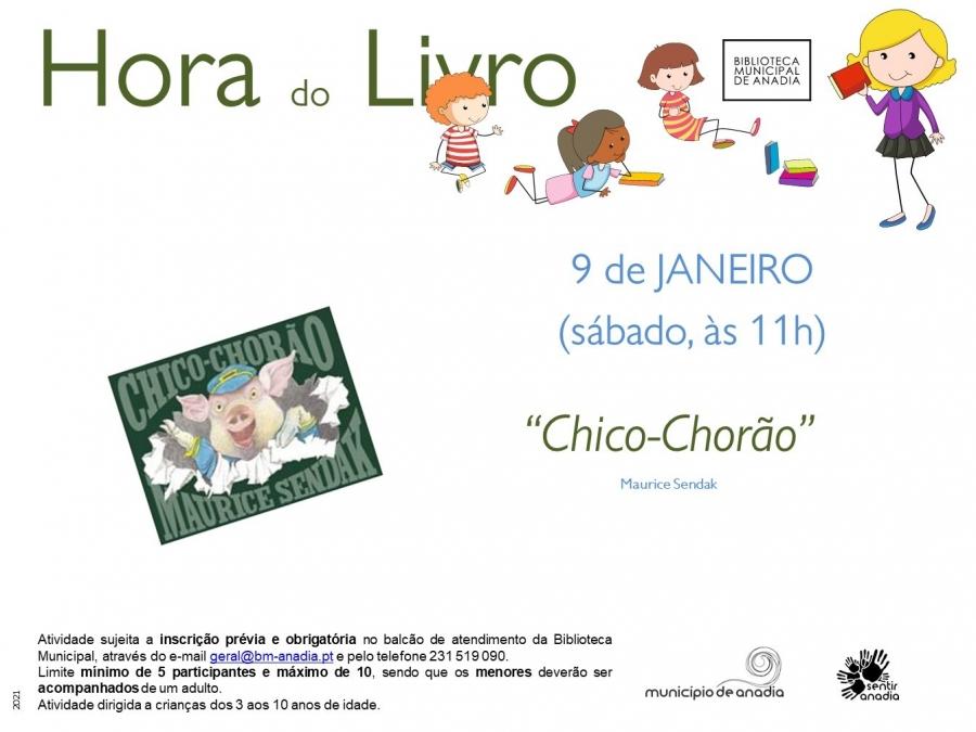 """Hora do Livro - """"Chico-Chorão"""""""