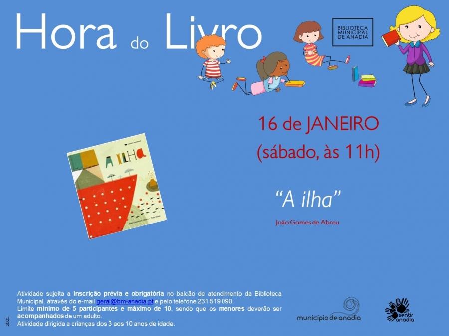 """Hora do Livro - """"A ilha"""""""