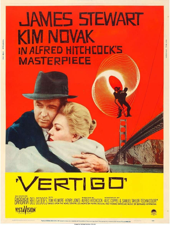 Cine Filmoteca: «Vértigo (de entre los muertos)»
