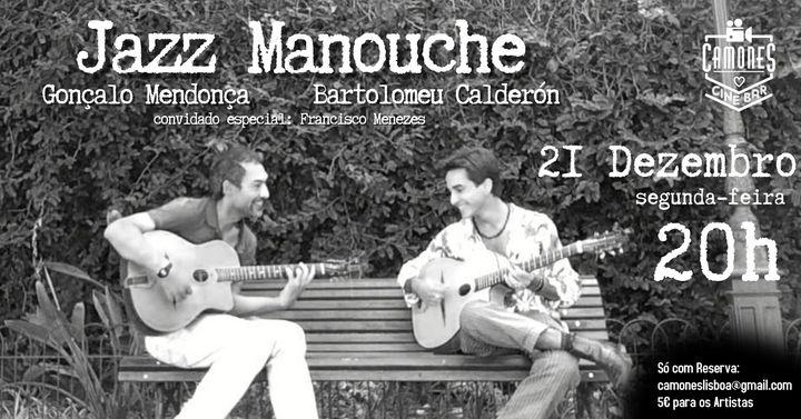 Jazz Manouche - Gonçalo Mendonça e Bartolomeu Calderón