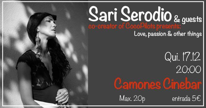 Sari & friends at Camones