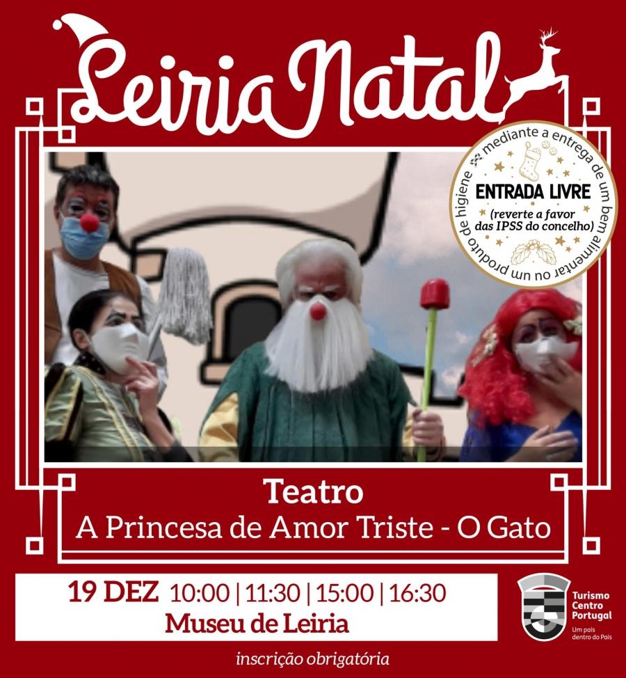 A princesa de amor triste - O gato: Teatro