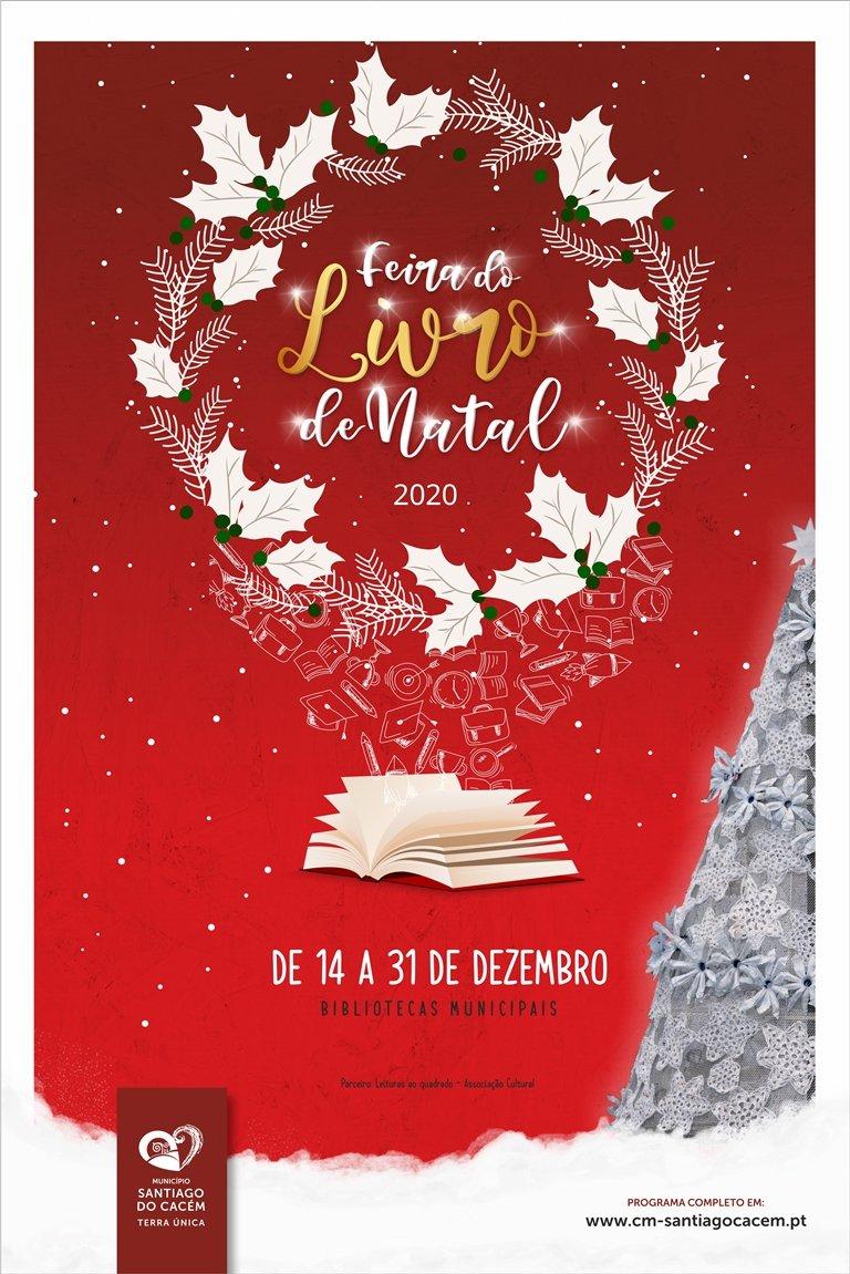 Feira do Livro de Natal nas Bibliotecas Municipais