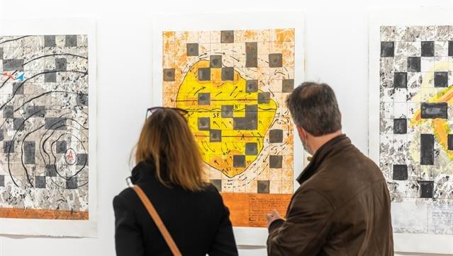Visita guiada com o artista Pedro Calhau