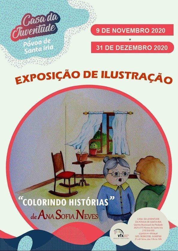 """""""Colorindo Histórias"""" de Ana Sofia Neves"""