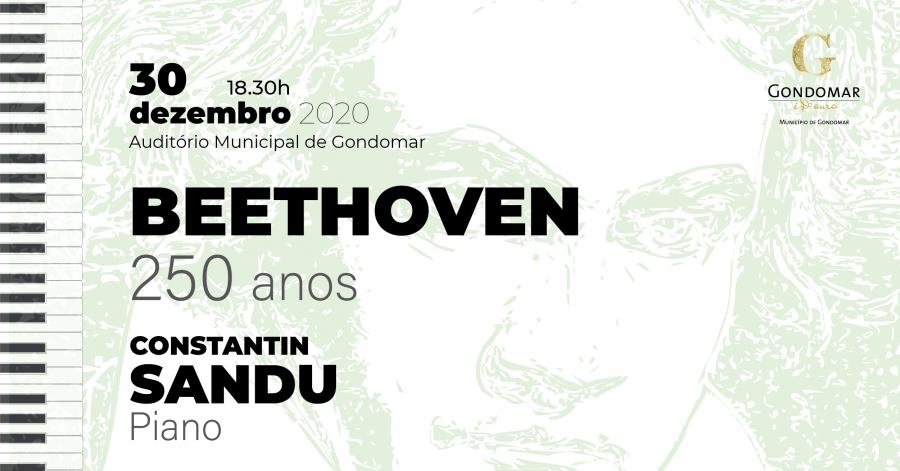 BEETHOVEN 250 anos –  Recital por Constantin Sandu