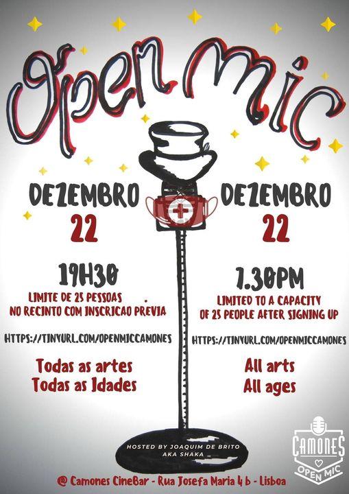 Open Mic - 58ª edição - All Arts, All Ages