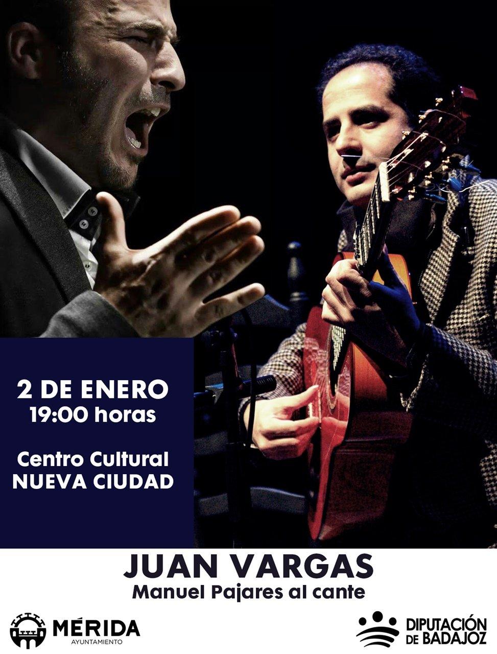 Concierto de Juan Vargas y Manuel Pajares