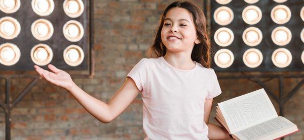 Curso de Teatro para crianças (on-line) – Aula aberta a 26 janeiro