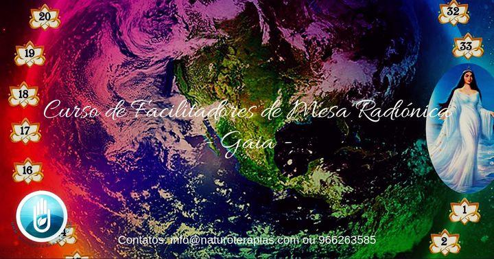 Curso Facilitadores de Mesa Radiónica Gaia