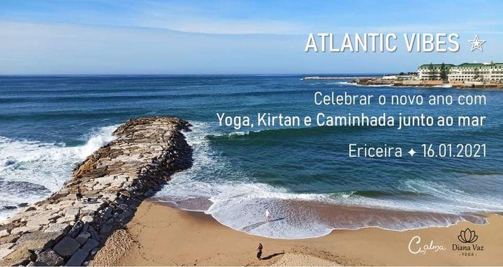 ATLANTIC VIBES: Yoga, Kirtan & Caminhada