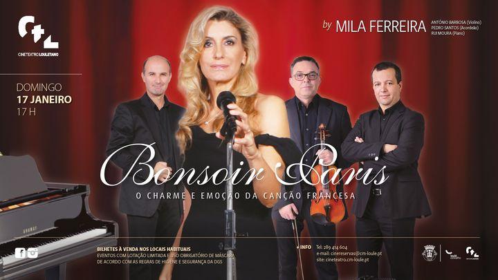 [ADIADO] Bonsoir Paris, o charme e a emoção da canção francesa, por Mila Ferreira