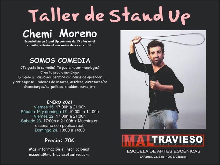 Taller de Stand Up por Chemi Moreno