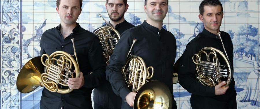 InMusic com Quarteto Trompas Lusas