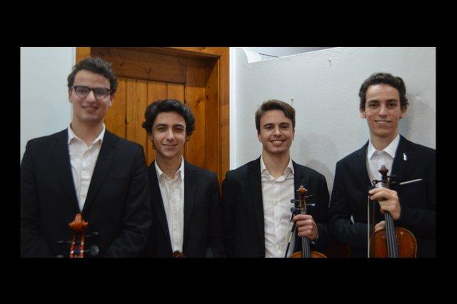 Concerto de Ano Novo – Quarteto de Cordas da Orquestra Sinfónica Juvenil