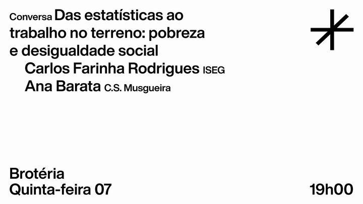 Conversa   Das estatísticas ao trabalho no terreno: pobreza e desigualdade social
