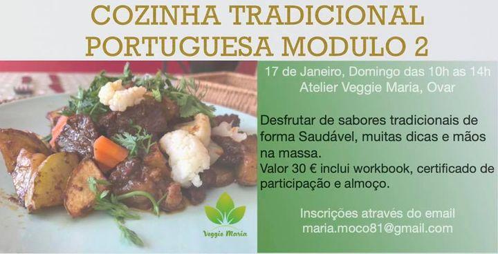 Cozinha Tradicional Portuguesa 100% vegetal módulo 2