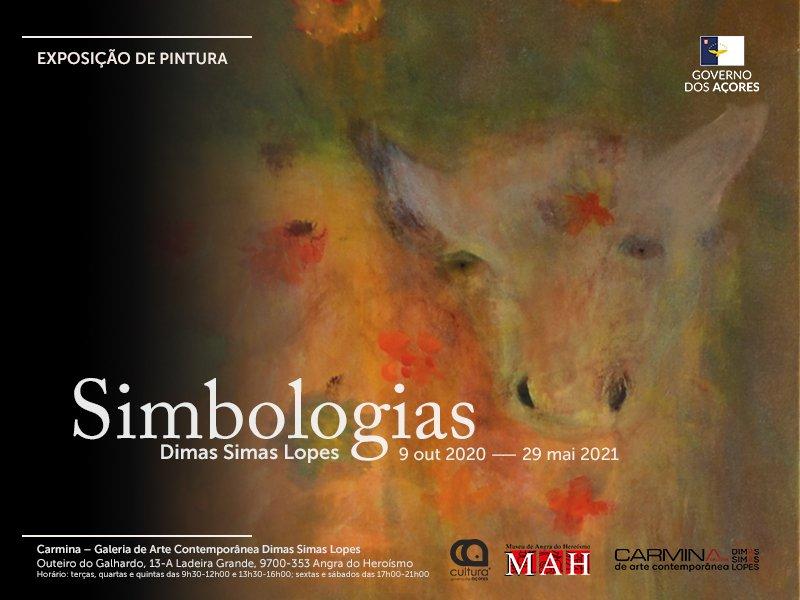 Simbologias   Pintura de Dimas Simas Lopes