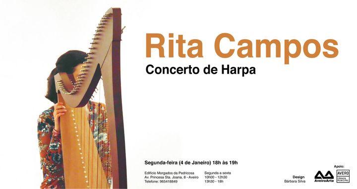 Concerto Harpa por Rita Campos
