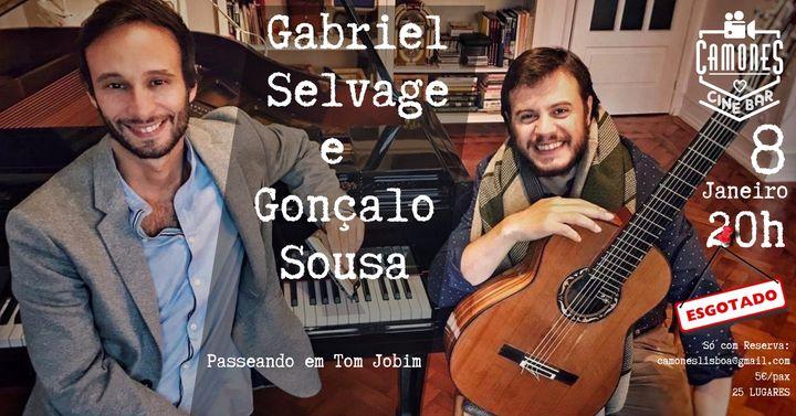 Passeando em Tom Jobim - com Gabriel Selvage e Gonçalo Sousa