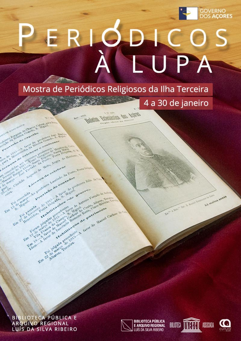 Periódicos à Lupa   Mostra de Periódicos Religiosos da Ilha Terceira