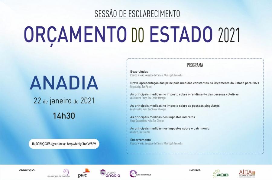 Sessão de Esclarecimento - Orçamento do Estado 2021