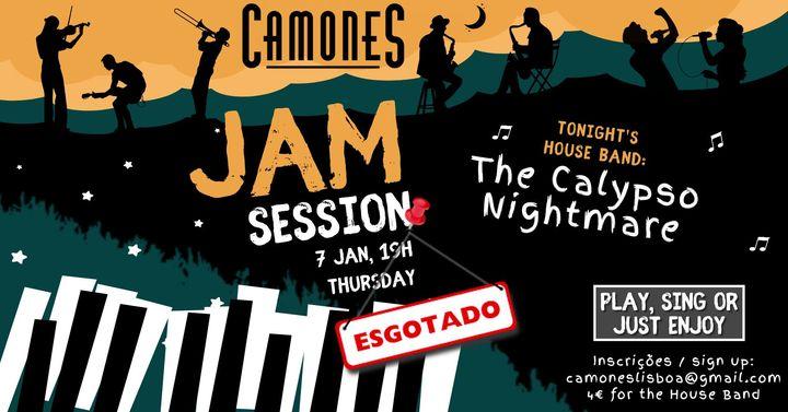 Jam Session com Calypso Nightmare