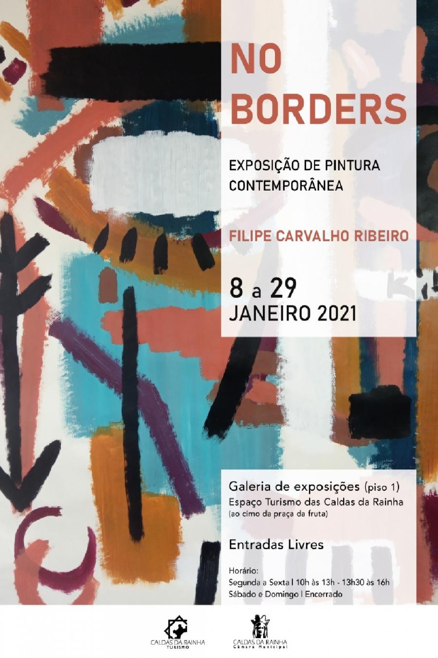 Exposição de pintura contemporânea 'NO BORDERS'