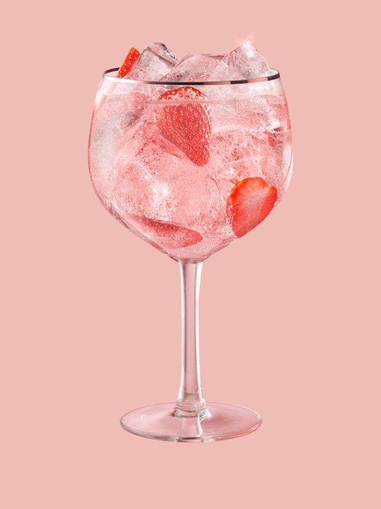 Pina Colada & Gin Pink