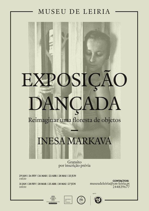 'Exposição Dançada - Reimaginar uma floresta de objetos', por Inesa Markava