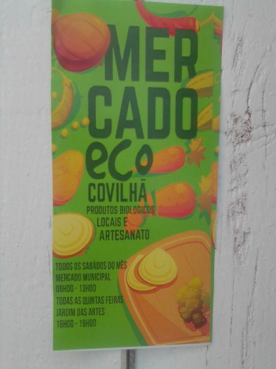 Mercado Eco no Jardim das Artes - Covilhã