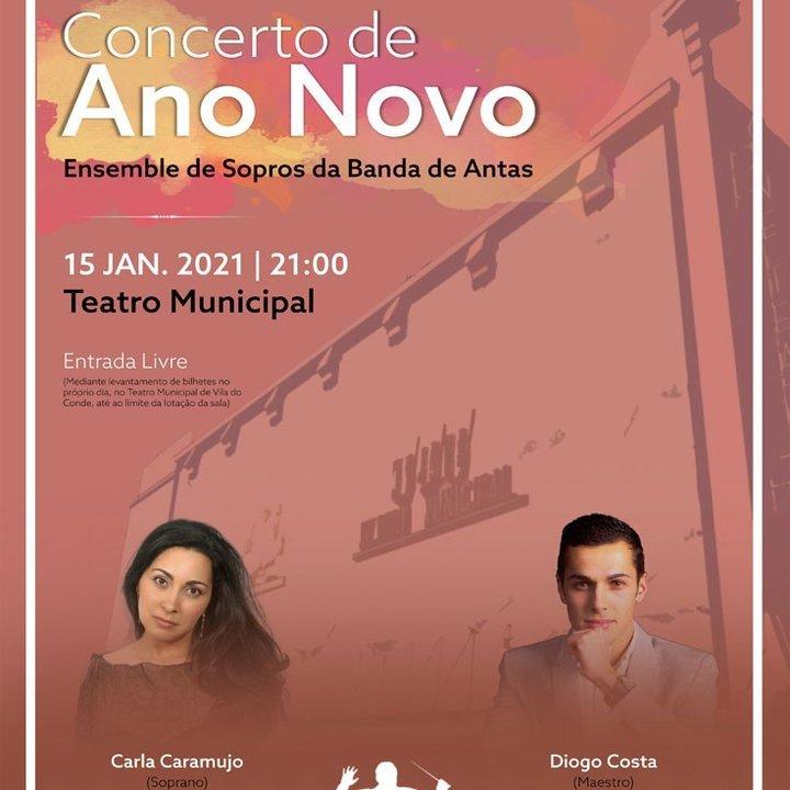 Concerto de Ano Novo Online via Facebook