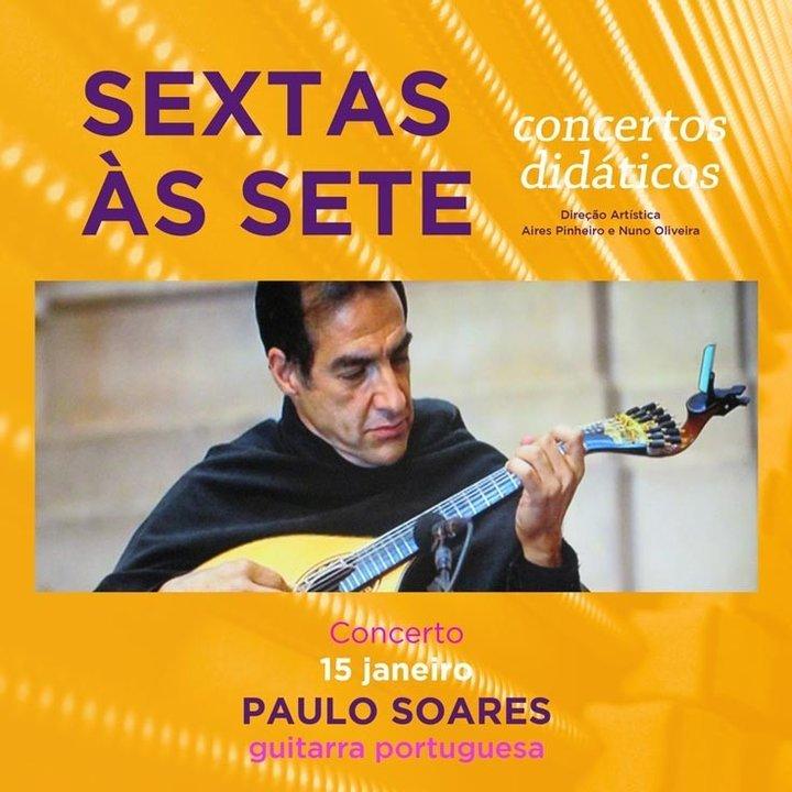 """Paulo Soares no """"sextas às sete"""" - ..."""