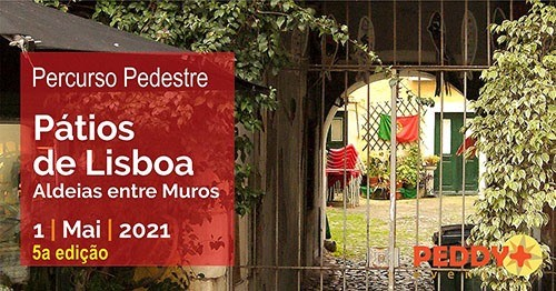 Percurso Pedestre 'Pátios de Lisboa' (5ª Edição)