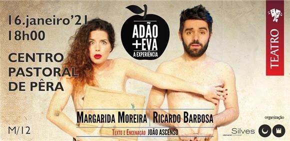 """""""ADÃO + EVA – A EXPERIÊNCIA"""""""