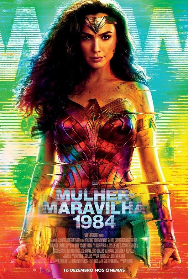 Exibição do filme 'Mulher Maravilha 1984'