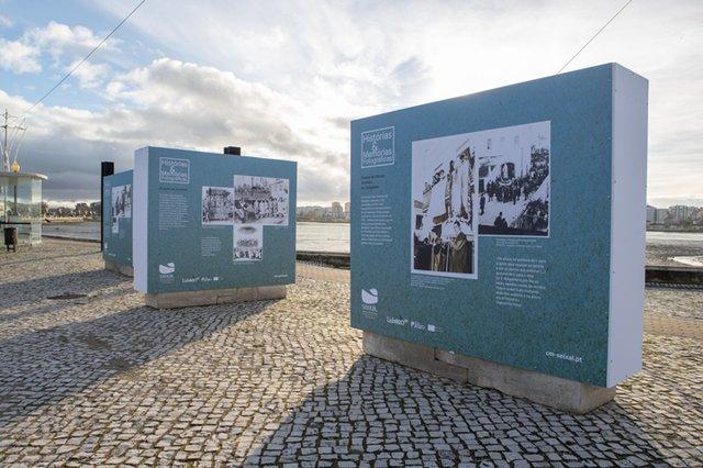 Visita à Exposição de Rua do Projeto Histórias & Memórias Fotográficas