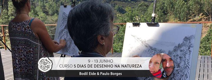 Curso 5 dias de desenho na Natureza