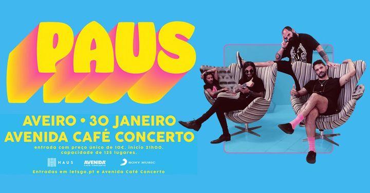PAUS em AVEIRO | ADIADO
