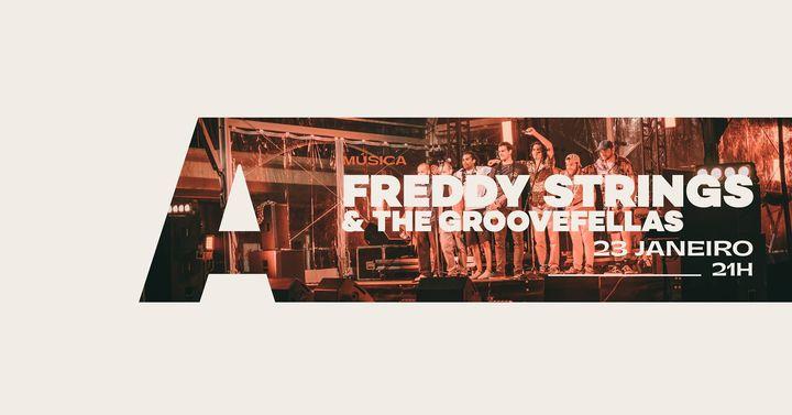 Freddy Strings & The GrooveFellas @Avenida Café-Concerto